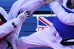 Sparring in Taekwondo